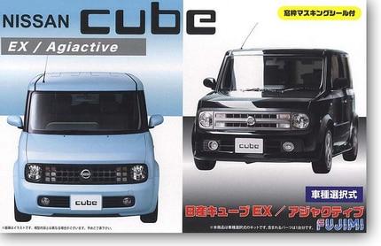 все цены на 1/24 Nissan Cube EX/Adjuctive Car Model 03937
