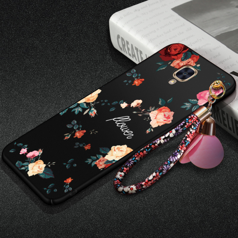 Oneplus 3T phone case, Luxury Flower design Hard PC Back Case Coverfor For oneplus3t / Oneplus 3 phone case with Strap