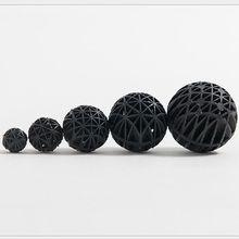 NUONUOWELL 50 шт. 36 мм аксессуары Acuarios Peces черные био-шарики для аквариума пруд фильтр нитритирующие бактерии биосфера