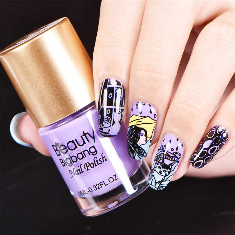 Detail Feedback Questions About Beautybigbang 1pc Stamping For Nails