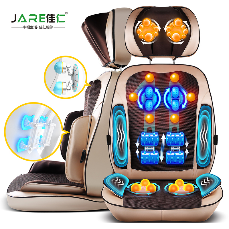 W04 Cervical massage device multifunctional neck massage pad electric massage cushion massage for body back waist buttocks стоимость