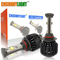 CNSUNNYLIGHT New 9005 HB3 Led High Power 3600lm 3000K 4300K 6000K 8000K Super Bright Car Headlight Fog Light Conversion Kit