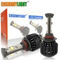 CNSUNNYLIGHT Nuevo 9005 HB3 Led de Alta Potencia 3600lm 3000 K 4300 K 6000 K 8000 K Linterna Del Coche Brillante Estupendo Luz de niebla Kit de Conversión