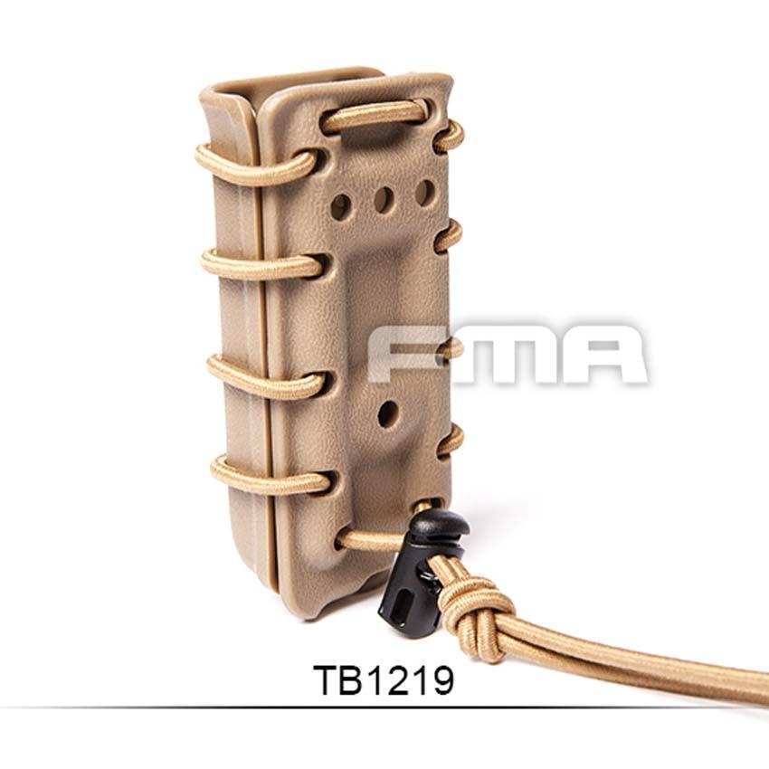 FMA SCORPION Pistol MAG singolo sacchetto vettore 45acp per molle//Cintura TB1219
