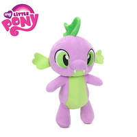 New 30cm My Little Pony Friendship Is Magic Plush Toys Spike The Dragon Applejack Fluttershy Rainbow