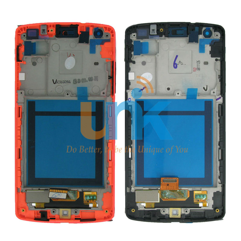 100% Tested Original LCD Display Touch Digitizer Screen+Frame For Google Nexus 5 LG D820 D821 Display Screen Replacement Parts new original for lg google nexus 5 d820 d821 lcd display panel with touch screen digitizer full frame assembly 100