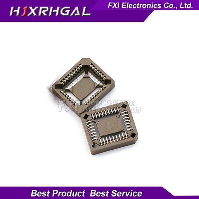 10PCS PLCC32-SMD IC Socket , PLCC32 Socket adapter , 32 Pin PLCC Converter new