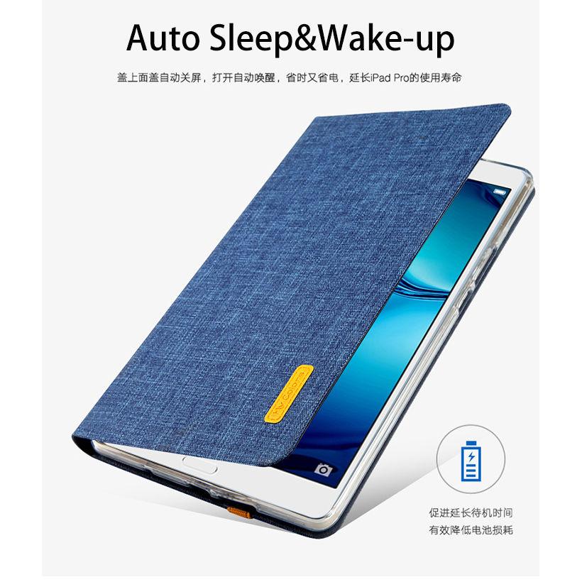 Silikoon + riie PU nahast kaitseümbris Huawei jaoks MediaPad M3 - Tahvelarvutite tarvikud - Foto 3