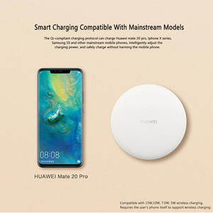 Image 4 - Huawei Wireless SuperCharger 15W CP60 27W CP61 SCP Supercharge for Huawei Mate30 Mate30Pro P30 P30Pro Mate20RS Mate20Pro MateRS