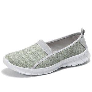 Image 3 - Jianbudan/경량 스 니 커 즈 여름 여성 야외 크롤링 신발 통기성 플랫 캐주얼 신발 여성 워킹 신발 36 45