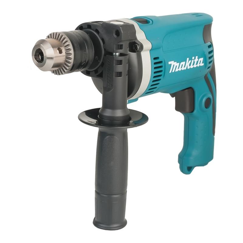 Makita impact drill HP1630 (no-load Speed 3200 rpm, 48000 strokes per minute, the reverse) drill impact makita hp1630 no load speed 3200 rev min 48000 beats per minute reverse