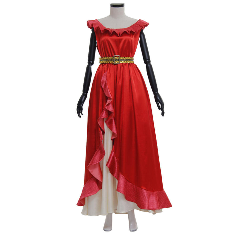 Elena of Avalor Elena Dress Adult Women's Halloween Fancy Dress Clothing Cosplay Costume
