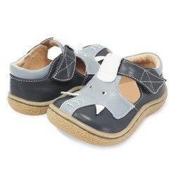 TipsieToes superior calidad de marca de cuero genuino niños bebé niño niña niños elefante zapatos de moda pies zapatillas de deporte