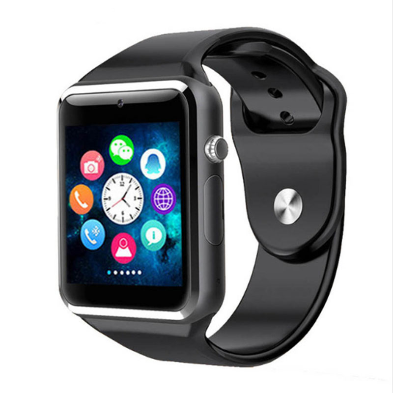 A1 WristWatch Bluetooth Smart Watch Sport Pedometer With SIM Camera Smartwatch For Android phones Russia T15 Better than DZ09