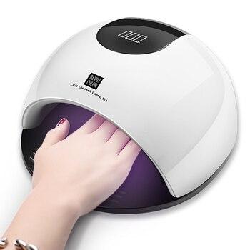 36 светодио дный s машина УФ Ongle Сушилка для ногтей Ice Нагель лампы солнечного света быстро лечить все гель Лаки 80 Вт красочные УФ светодио дны...