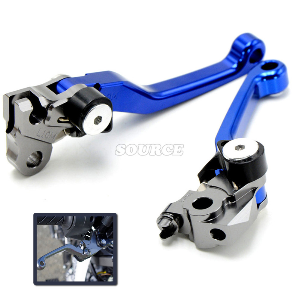 CNC Pivot Clutch Brake Levers For Suzuki DRZ400S DRZ400SM DRZ400 00-15 DR250R 96-00 DRZ DR MX Enduro Supermotard Dirt Bike for yamaha yz80 yz85 kawasaki kdx200 kdx220 suzuki rm85 rm125 rm250 drz125l cnc dirttbike pivot brake clutch levers blue