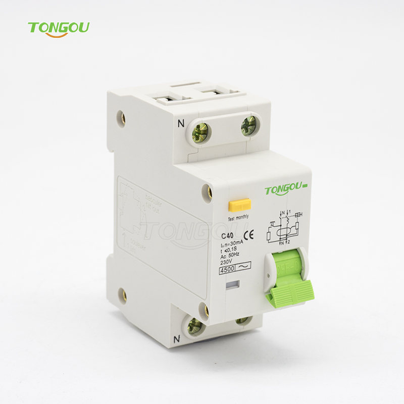 цена на 2P 1P+N 40A 230V~ 50HZ/60HZ Residual Current Circuit breaker With Over Current and Leakage Protection RCBO