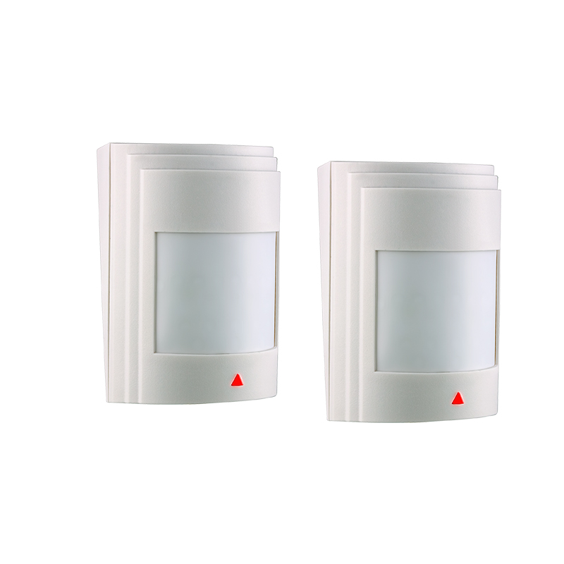 2pcs/lot Wired PIR Motion Sensor Detector For GSM PSTN Home Security Alarm System