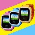 Nueva q60 kid smart watch reloj sos llamada localizador Dispositivo localizador Rastreador de Seguros para Niños Anti Perdido Monitor de Bebé regalo