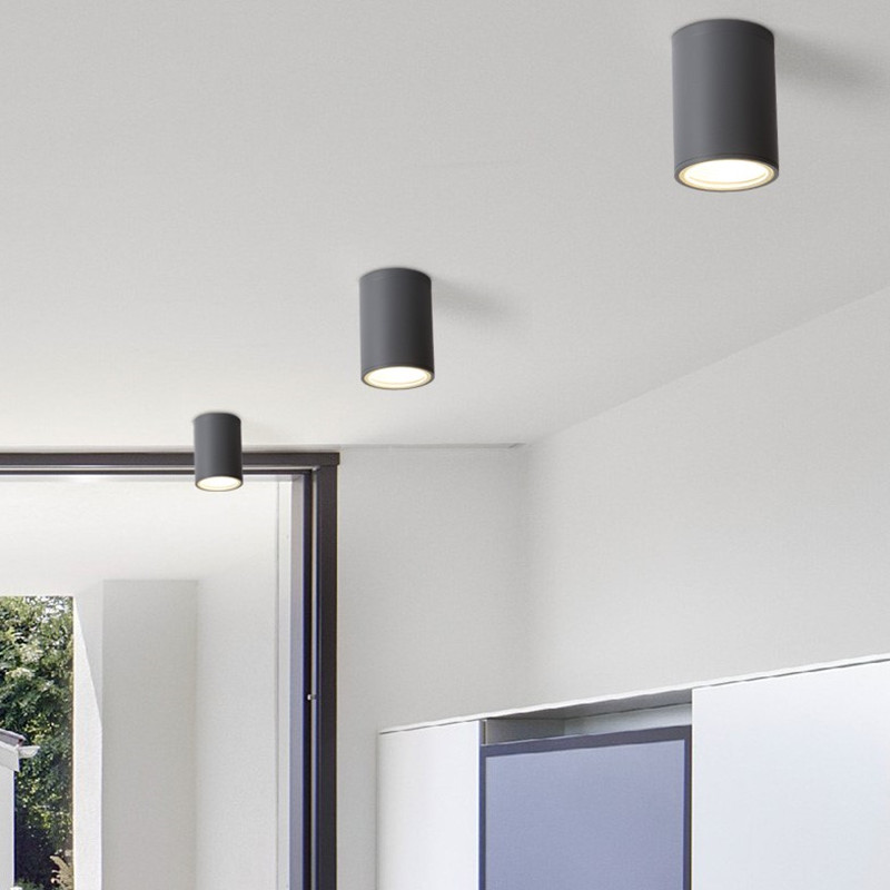 Cylinder led ceiling down light fixture modern lamp cob chipset cylinder led ceiling down light fixture modern lamp cob chipset restaurant balcony ceiling lighting fixtures 110 240v in ceiling lights from lights aloadofball Image collections