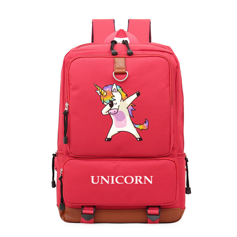 Cartoon Dance Rainbow Unicorn Bendy Boy Girl Children School Bag Women Bagpack Teenagers Schoolbags Canvas Men Student Backpack9