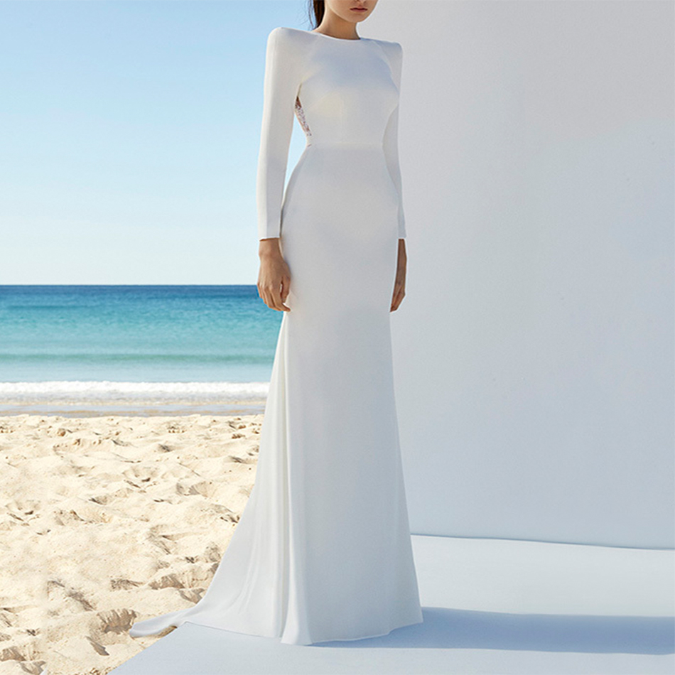 2018 Newest Summer Bandage Dresses Women Celebrity Party Long Sleeve ...