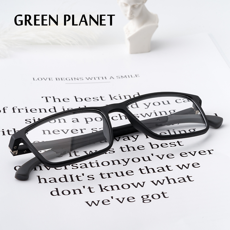 TR90 Spectacle Frames For Men Flexible Spring Hinge Myopia Computer Glasses#MA09-01
