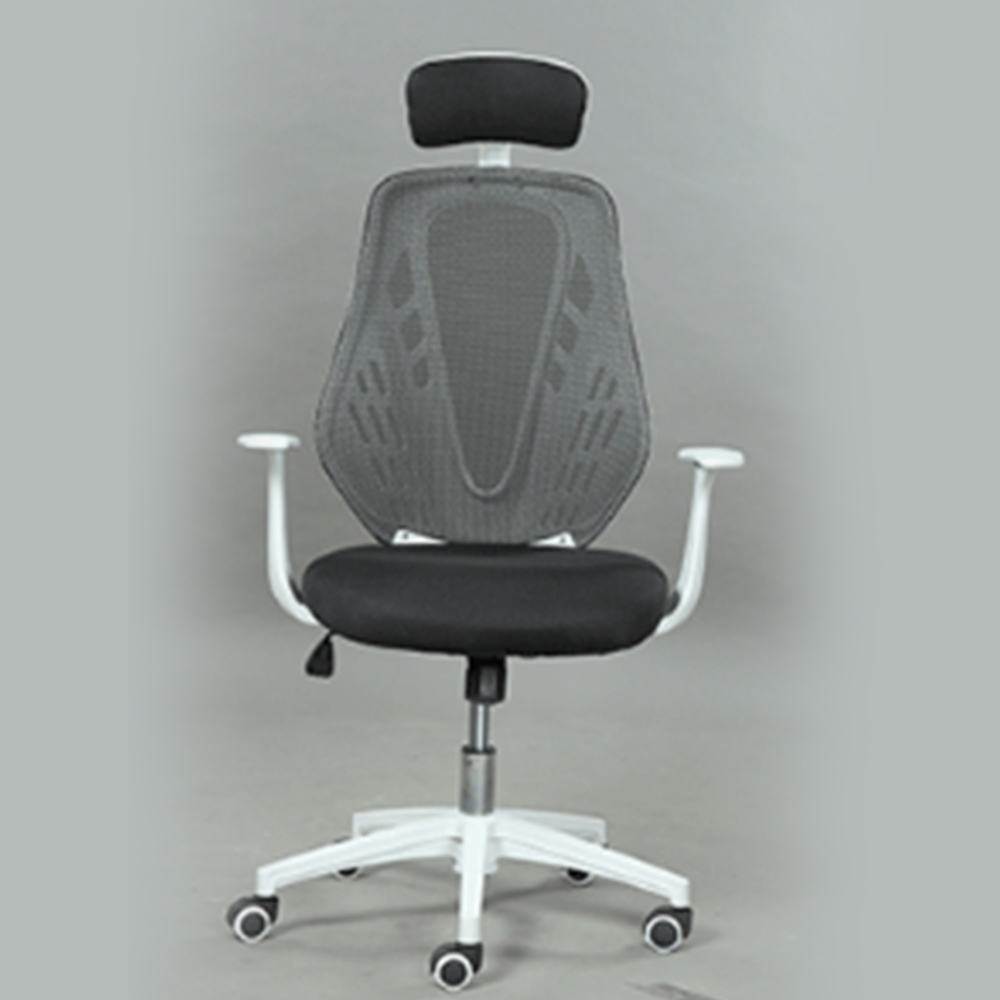 High Quality Chair Household To Work In An Office Chair Ergonomic Chair Screen Cloth Member Swivel Chair Special Boss Chair the silver chair