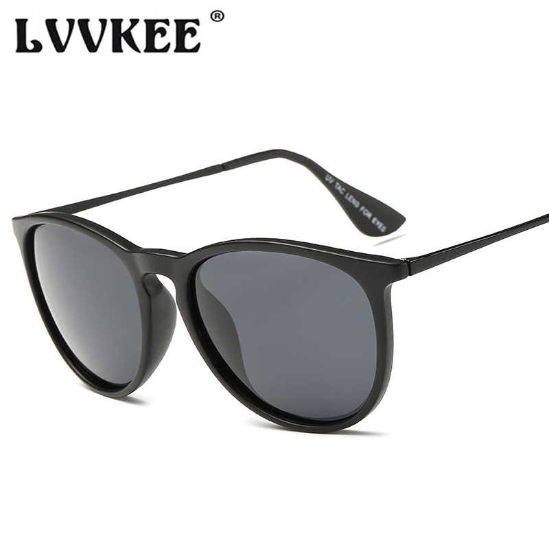 3babc97e93d10 LVVKEE Fashion Polarized Cat Eye Sunglasses Women Men Brand Designer Erika  Style Sun glasses TR90