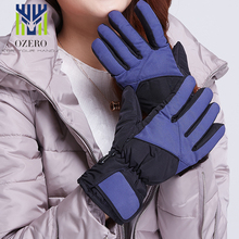OZERO Winter Outdoor Ski Sport Mountain Skiing Gloves Waterproof Warm Snowboard Below Zero Cycling Gloves For Men Women  9001