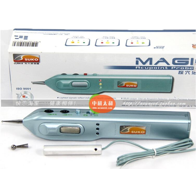 Suko magic ottico sonda dei punti di agopuntura auricolare punto rivelatore orecchio agopuntura penna a earpoints probe detector massaggio dell'orecchio-in Massaggi e relax da Bellezza e salute su  Gruppo 1
