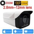4X Зум камеры ip 1080 P Открытый Водонепроницаемый FULL HD cctv система безопасности главная видеонаблюдения p2p ipcam ик 1920*1080 cam JIENU