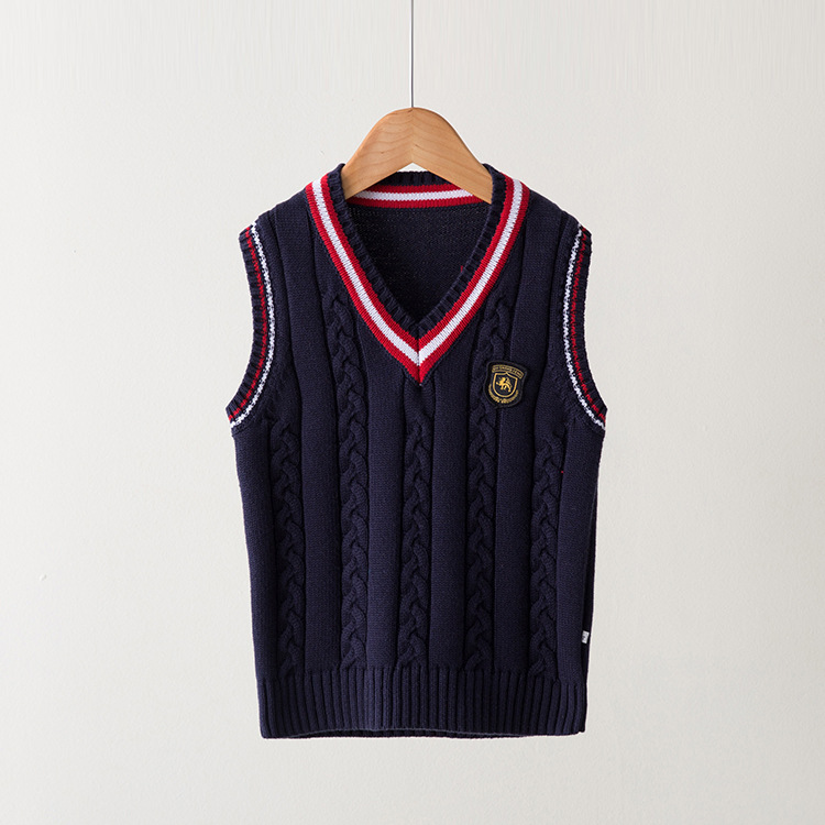 VIDMID-Hot-Sale-Autumn-Winter-V-neck-Baby-Boys-Knitted-Vest-Cardigan-School-Uniform-Style-Sweater-Childrens-clothing-7016-02-1