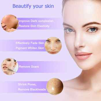 Diamond Microdermabrasion Machine Big Suction Facial Peeling Care Salon Equipment Vacuum Spray For Personal Home Use Device