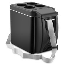 6L Mini Car Freezer Cooler 12V Refrigerator Freezer Heater Electric Fridge Portable Icebox Travel Refrigerator 4l multifunctional electric cooler and warmer refrigerator machine dc2v ac220v mini portable electric refrigerator