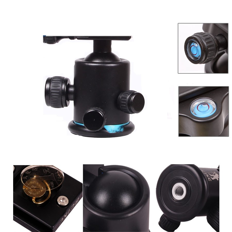 Blue-BEIKE-BK-03-Aluminum-Camera-Tripod-Ball-Head-Ballhead-with-Quick-Release-Plate-1-4 (3)