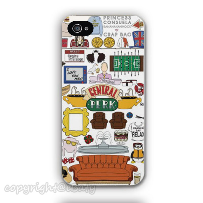 2015 Hot selling Friends TV Show Phone Cover Case Apple iPhone 4 4s 5 5s 5c 6 6s plus mobile cover - Minason Russian Federation Store store