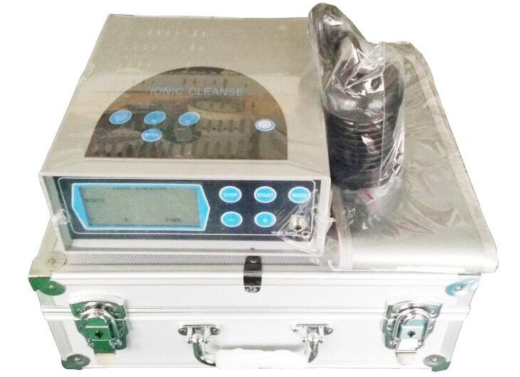 Machine de Detox Foot Spa Machine Ion Cleanse Foot Spa Machine ionique désintoxication pied spa avec FIR ceinture + 1 supplémentaire ion tableau livraison gratuite