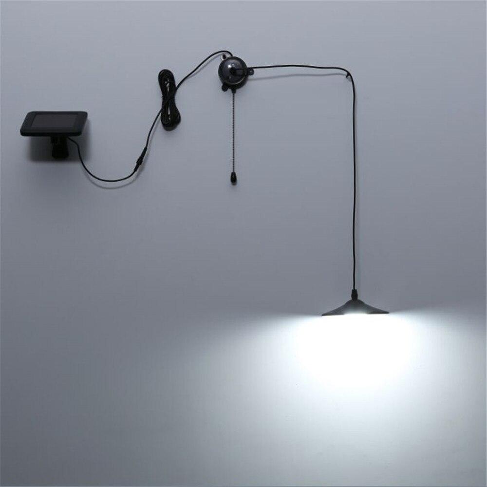 2X New Solar Powered Pendant Lights, Black Stainless Steel ...