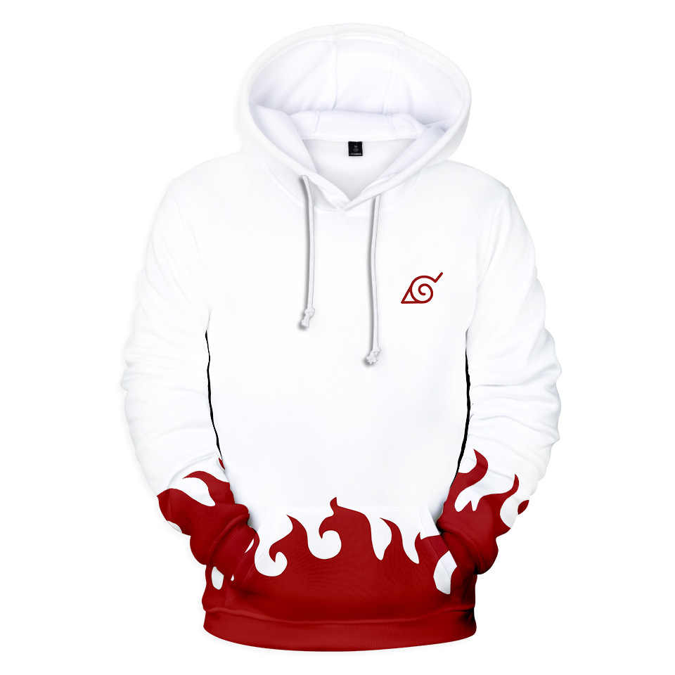 Hooded Sweatshirt Man Naruto Hoodie Kids 3D Japanese Anime Print Sweat Homme Fleece Pullover Dropshipping New 2018 Hot Selling