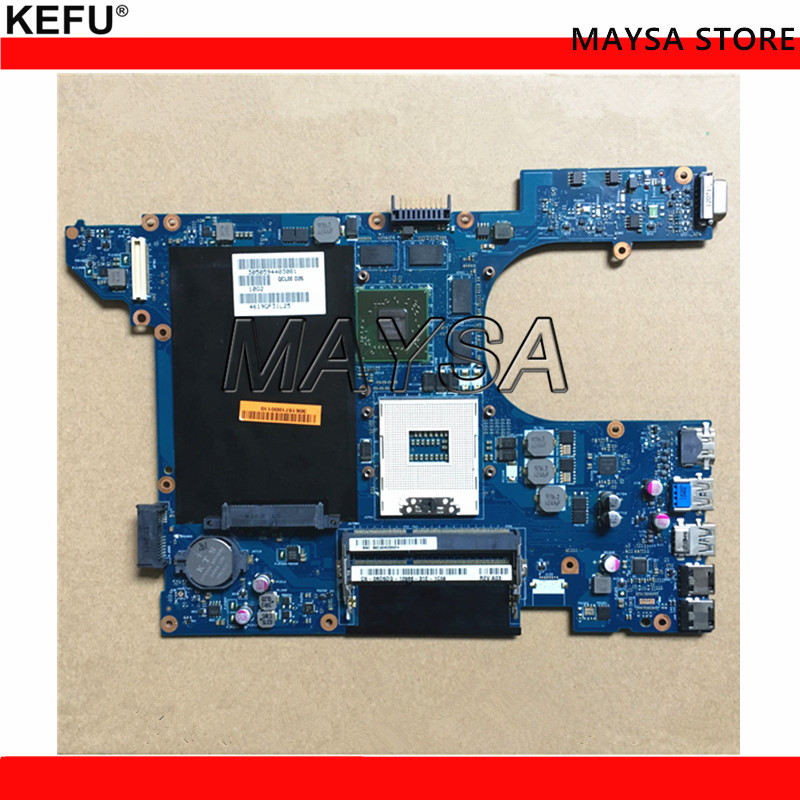 KEFU QCL00 LA-8241P CN-06D5DG 06D5DG 6D5DG Fit For dell Inspiron 15R 5520 laptop motherboard HD7670M 1GB Graphics cn 06d5dg 06d5dg 6d5dg laptop motherboard for dell inspiron n5520 15r 5520 qcl00 la 8241p ddr3 hd7670m 1gb video card mainboard