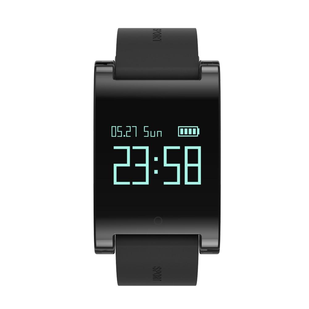 IP67 Waterproof 0 95inch LCD Screen Smart Bracelet Fitness Tracker Heart Rated Monitor IP67 Bluetooth Wristband