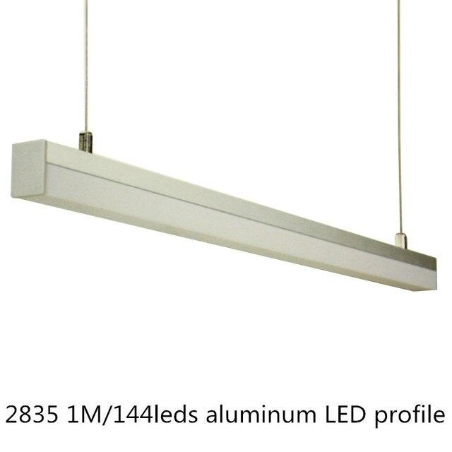 2pcs 2835/5050 led aluminium profile 1M 168/120 leds led bar light ...