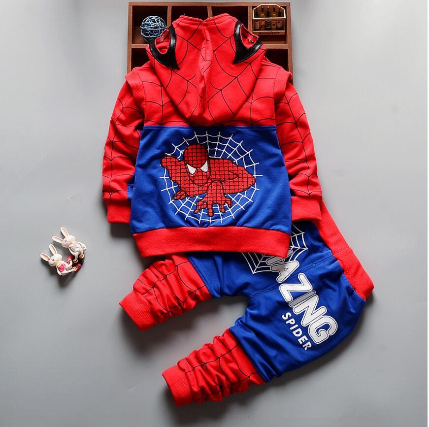 HTB1yTKnQXXXXXcGaFXXq6xXFXXXs - Boy's Cool Spring/Summer 3 Piece Set - Coat, Pants, and T-Shirt - Spider Man Design