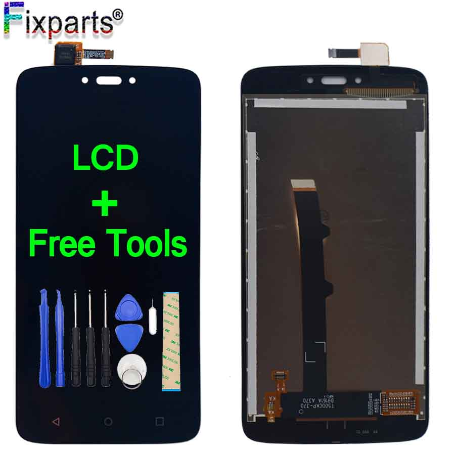 For Moto C Plus <font><b>XT1723</b></font> LCD For Motorola Moto C Plus LCD Screen Display WIth Touch Glass Digitizer Assembly For Moto C LCD XT1754 image