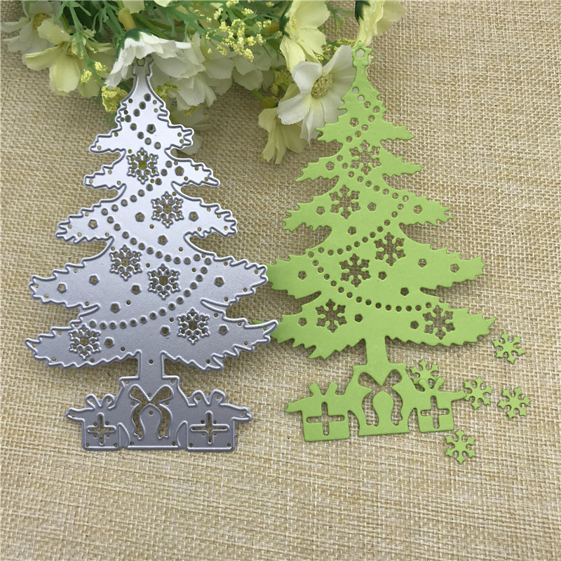 Tree Branch DIY Metal Cutting Dies Scrapbooking Christmas Stencil Craft Decor