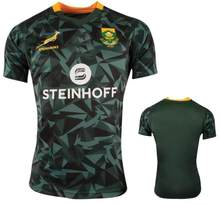 2018 2019 Afrique Maison Springboks équipe nationale Sud-Africaine de rugby  maillots chemises(China 219b85675d9