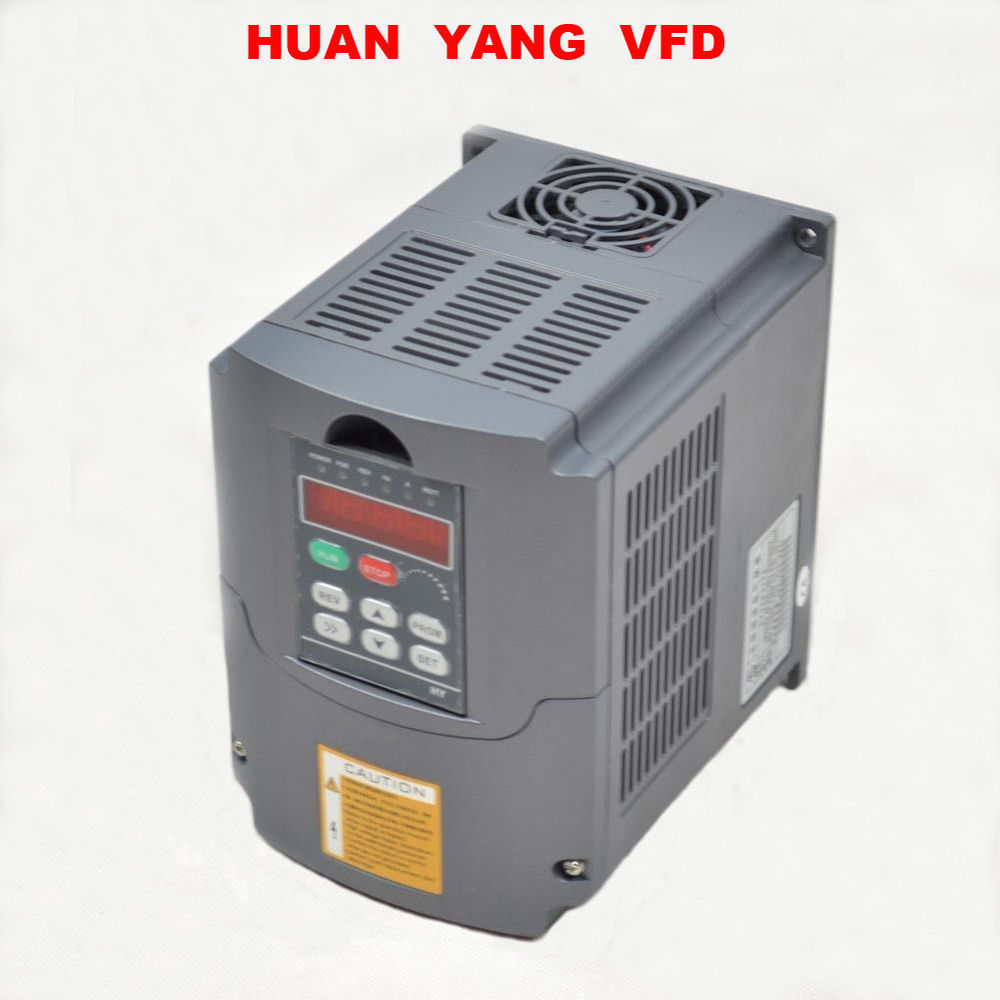 frequency inverter 4KW 5HP 1 phase input 3 phase output INVERTER variable frequency drive inverter motor speed controller vfd vfd inverter frequency converter frequency inverter 0 4kw 220v variable frequency drive 1 phase input 3 phase output