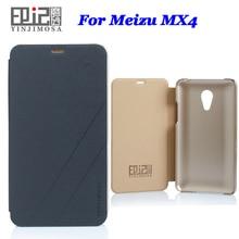 Италия Высокое качество кожаный чехол для Meizu MX4 чехол флип чехол для Meizu MX 4 чехол телефон Обложка 3 Цвета в наличии