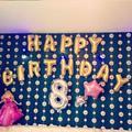 Letras Do Alfabeto de Ouro feliz Aniversário Folha De Alumínio Membrana Ouro Crianças Decoração de Balões Por Atacado